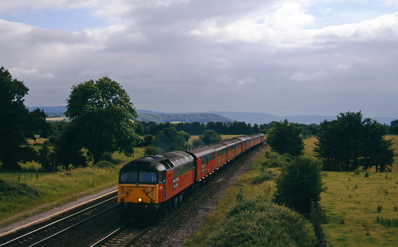 47746, 15.09 Plymouth-Low Fell, Cogload, 23-6-97.