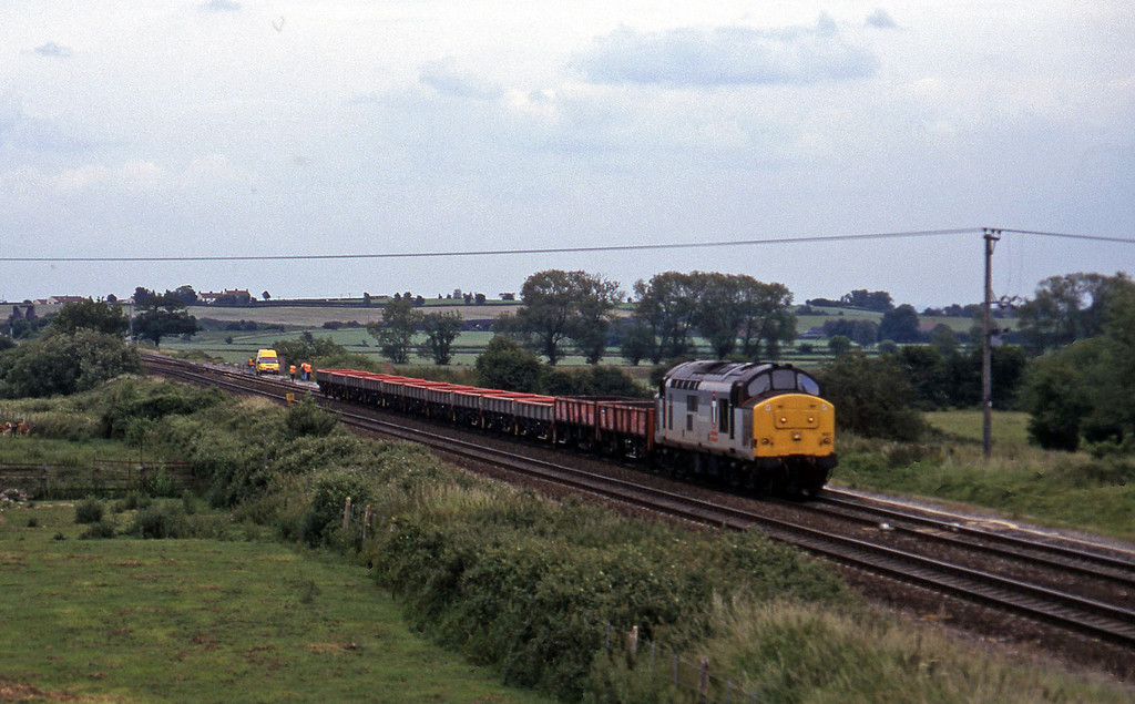 37897, 12.06 Newport ADJ-Exeter Riverside Yard, Cogload, 18-6-97.