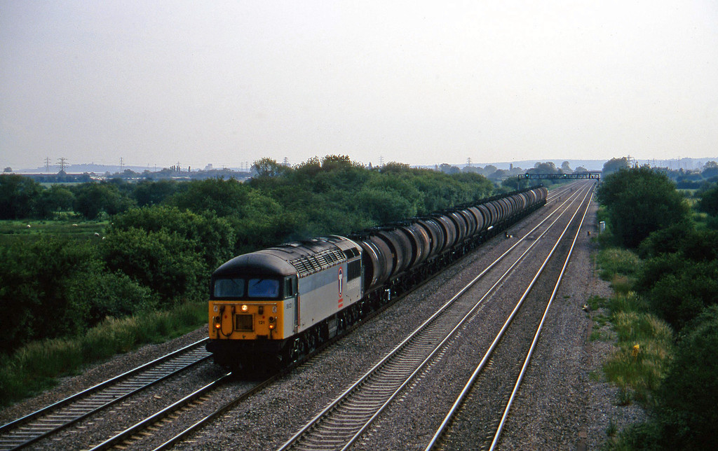 56121, 16.39 Llandarcy-Grain, St Mellons, near Cardiff, 17-6-97.