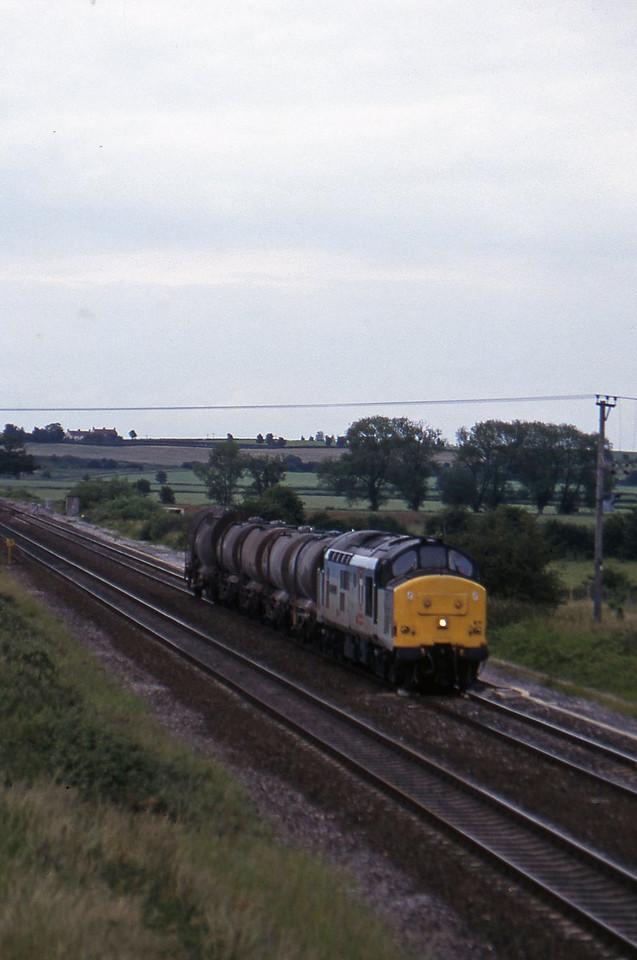 37671, 13.45 Newport Alexandra Dock Junction-St Blazey, Cogload, 24-6-97.