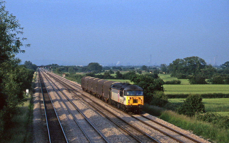 56064, down steel, St Mellons, near Cardiff, 17-6-97.
