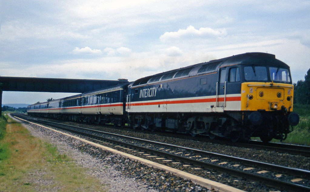 47822, 11.50 Plymouth-Liverpool Lime Street, Cogload, 18-6-97.