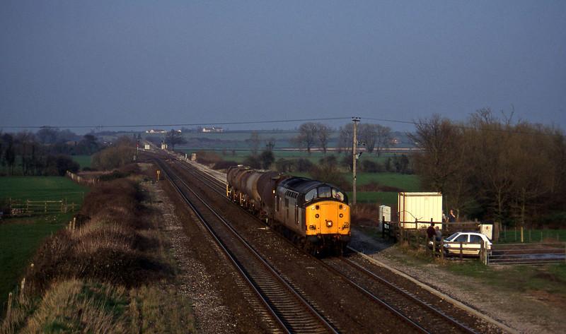 37701, 13.45 Newport Alexandra Dock Junction-St Blazey, Cogload, 11-3-97.