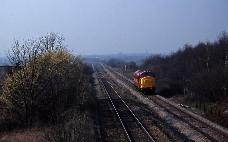 37411, up light, Cattybrook, Bristol, 11-3-97.