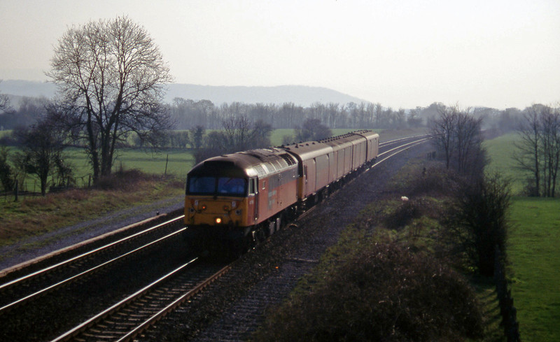 47761, 13.53 Plymouth-Bristol Temple Meads, Cogload, 11-3-97.