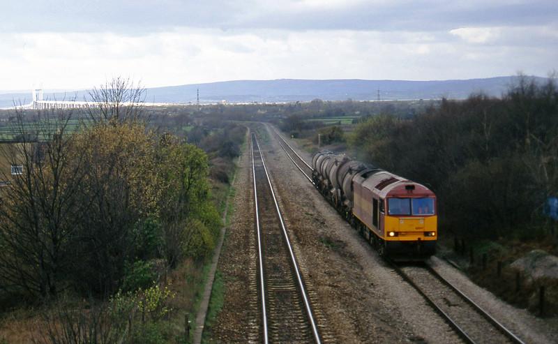 60041, 13.45 Newport Alexandra Dock Junction Yard-St Blazey, Cattybrook, Bristol, 19-3-97.