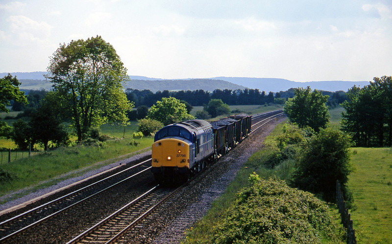 37798, up ballast, Cogload, 27-5-97.