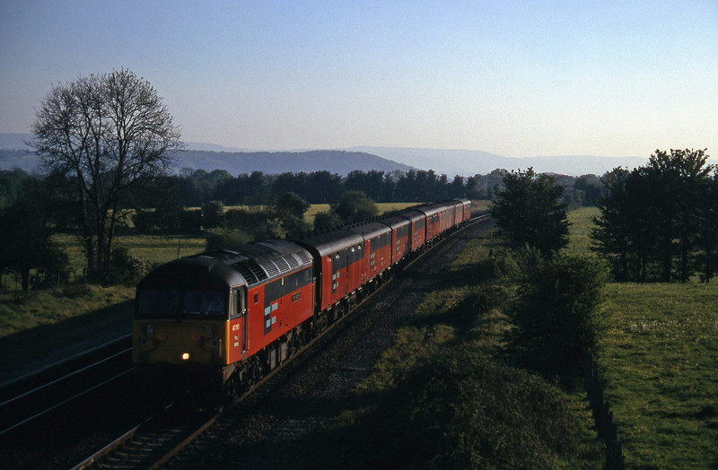 47793, 17.23 Plymouth-Low Fell, Cogload, 1-5-97.