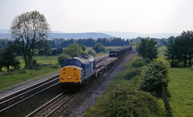 37798, up ballast, Cogload, 15-5-97.
