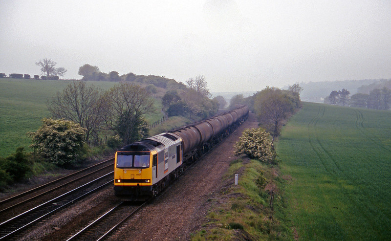 60070, down tanks, Melton Ross, near Barnetby, 16-5-97.