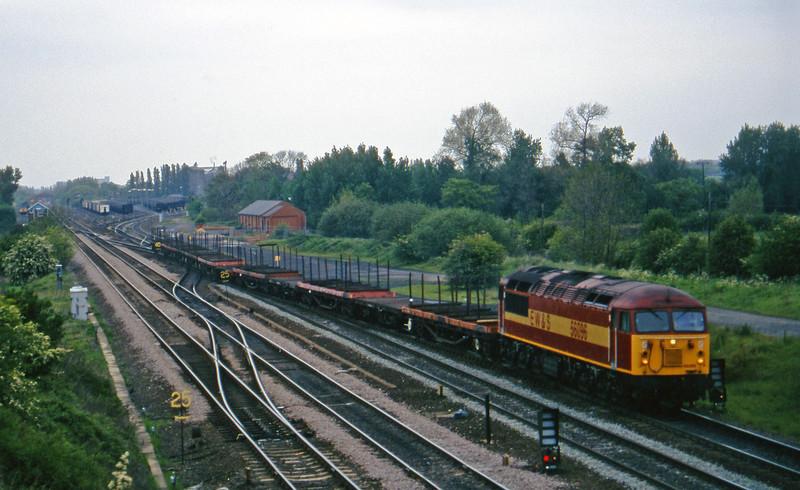 56096, 08.37 Tees Yard-Etruria, Monk Fryston, near Knottingley, 16-5-97.