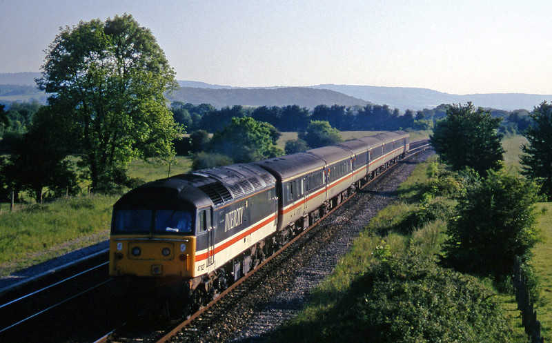 47827, 16.50 Plymouth-Sheffield, Cogload, 29-5-97.