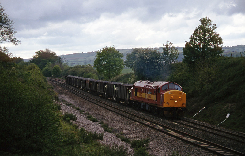 37684, up ballast, Whiteball, 19-5-97.