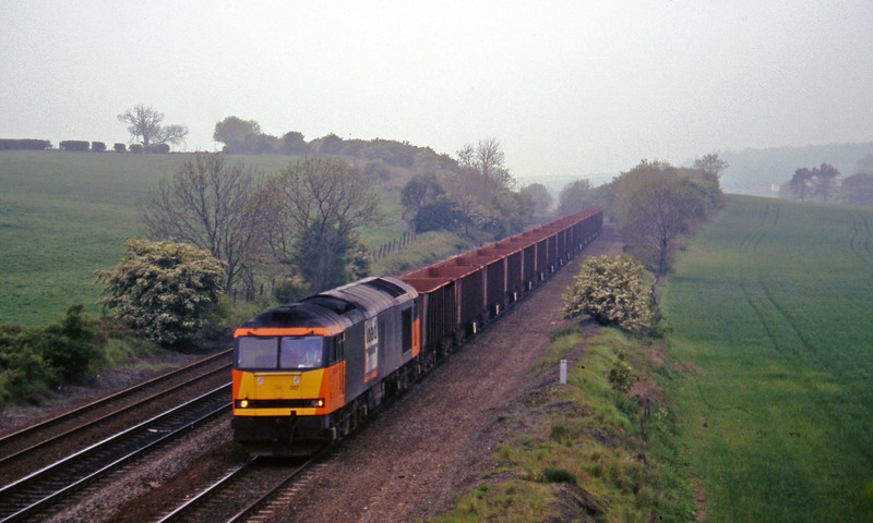 60007, 14.39 Santon-Immingham, Melton Ross, near Barnetby, 16-5-97.