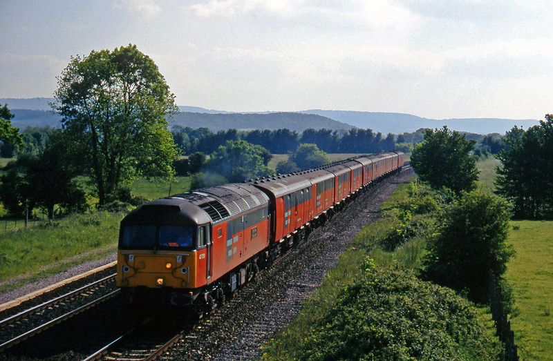 47750, 15.09 Plymouth-Low Fell, Cogload, 27-5-97.