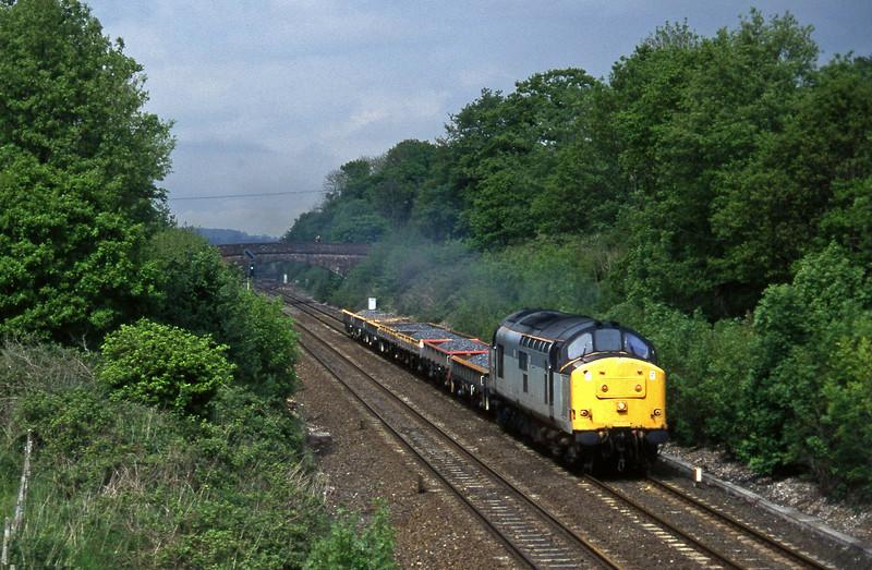 37888, 12.06 Newport Alexandra Dock Junction-Exeter Riverside Yard, Willand, near Tiverton, 21-5-97.