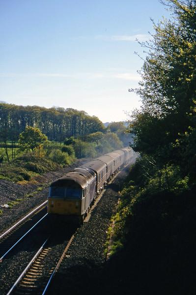 47807, 16.50 Plymouth-Sheffield, Whiteball, 2-5-97.