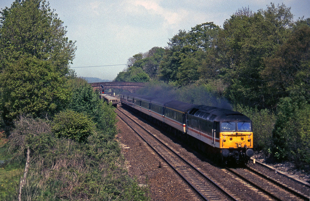 47822, 09.10 Liverpool Lime Street-Plymouth, Willand, near Tiverton, 15-5-97.