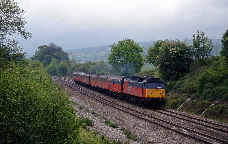 47783, 12.44 Plymouth-Glasgow, Whiteball, 19-5-97.