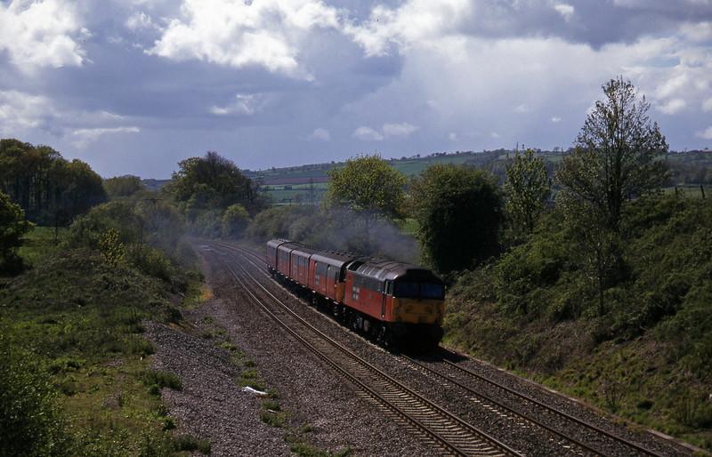 47766, 13.53 Plymouth-Bristol, Whiteball, 6-5-97.