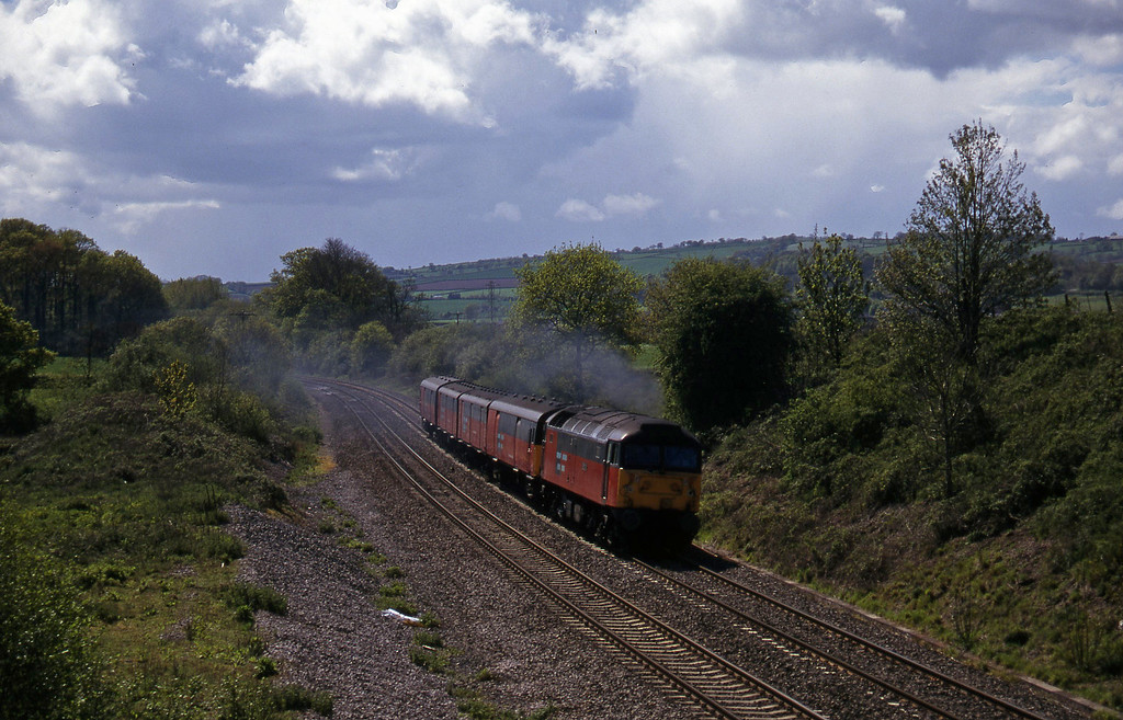 47766, 13.53 Plymouth-Bristol, Whiteball, 6-5-97.