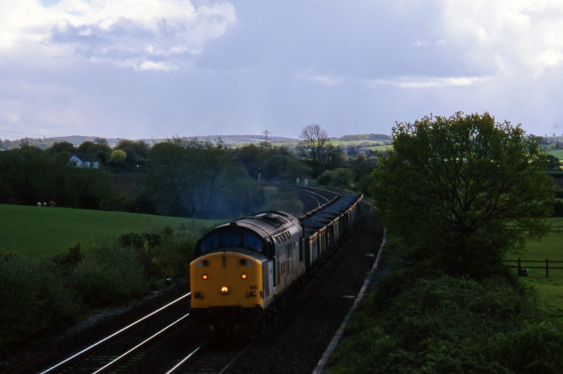 37505, up ballast, Willand, near Tiverton, 6-5-97