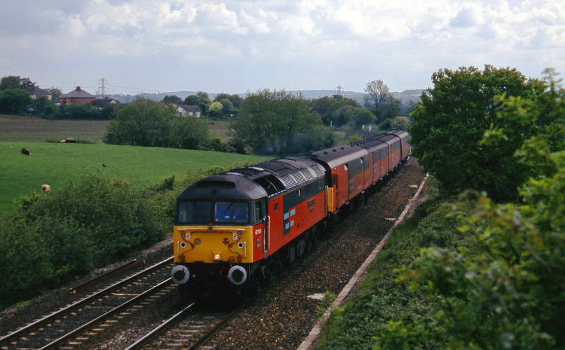 47734, 13.53 Plymouth-Bristol Temple Meads, Willand, near Tiverton, 21-5-97.