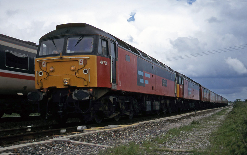 47750/47780, 12.15 Bristol Temple Meads-Plymouth, Cogload, 20-5-97.