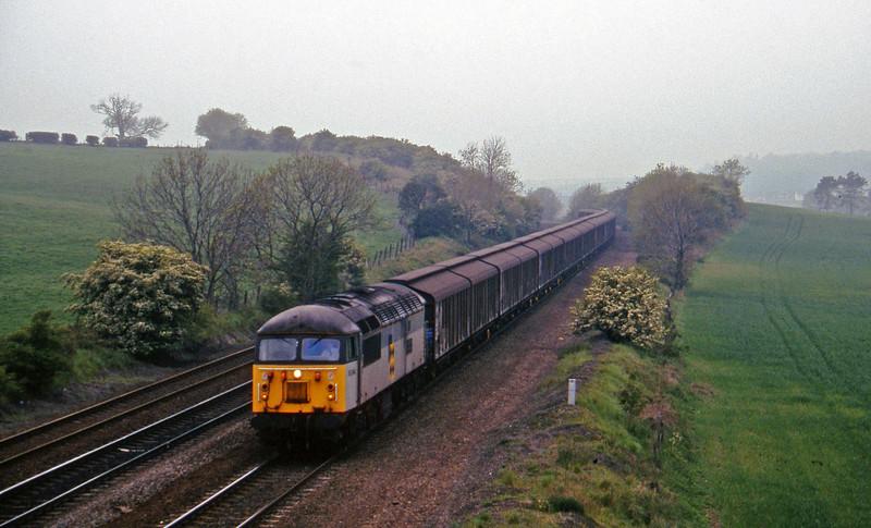 56094, 09.59 Ripple Lane-Immingham, Melton Ross, near Barnetby, 16-5-97.