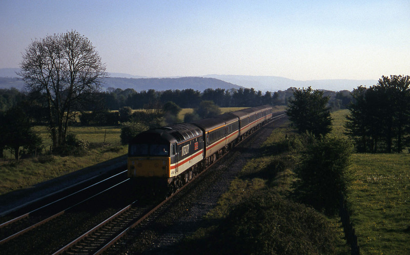 47841, 16.50 Plymouth-Sheffield,  Cogload, 1-5-97.