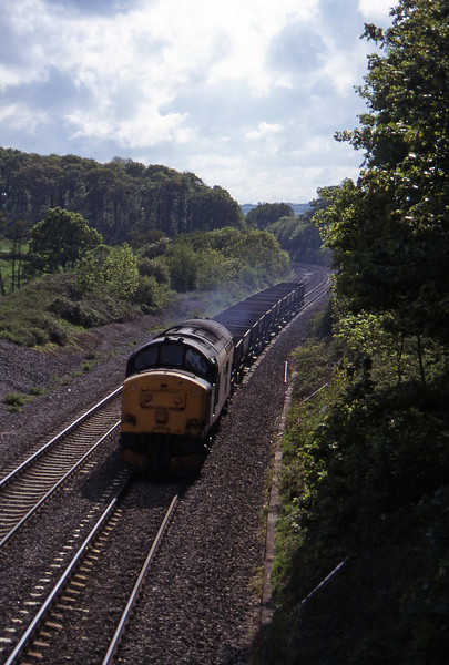 37263, 16.35 Exeter Riverside Yard-Newport Alexandra Dock Junction Yard, Whiteball, 19-5-97.