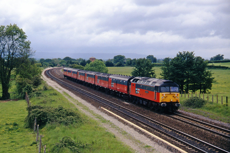 47785, 12.44 Plymouth-Glasgow, Cogload, 20-5-97.