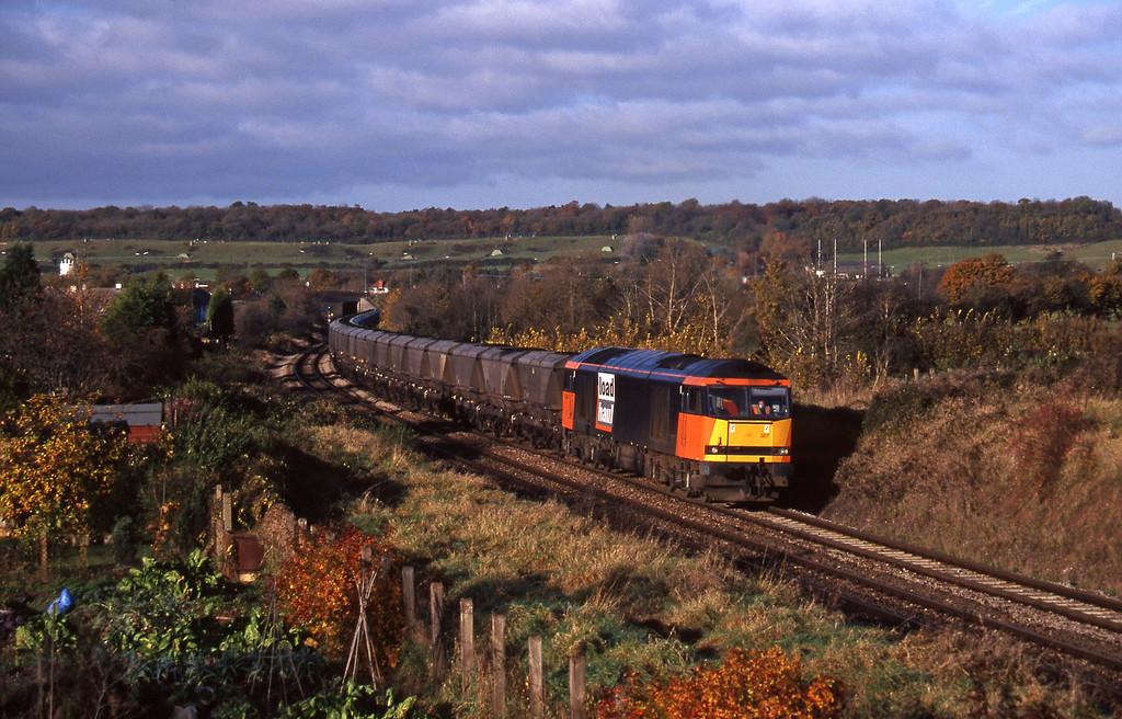 60007, 09.03, Avonmouth Bulk Handling Terminal-Didcot Power Station, Brentry, Bristol, 11-11-97.