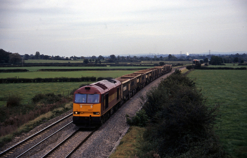 60027, down stone empties, Berkley Marsh, near Frome, 14-10-97.