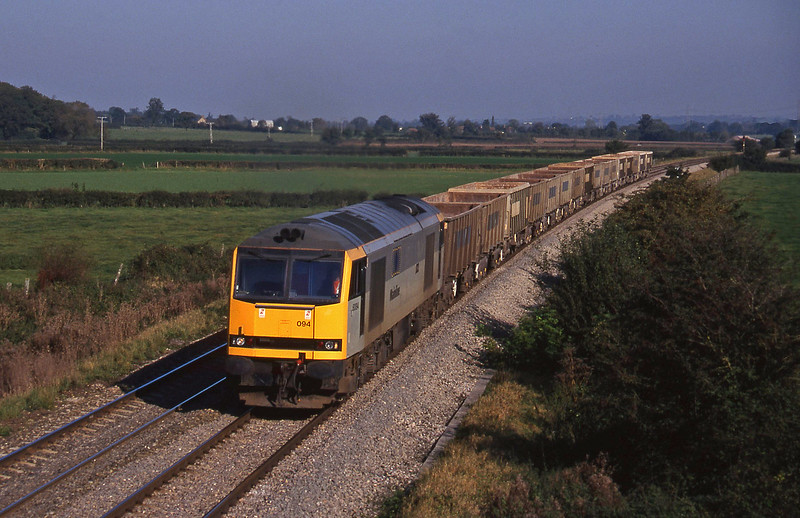 60094, down stone empties, Berkley Marsh, near Frome, 22-10-97.