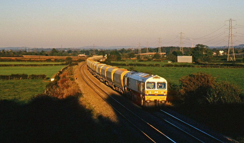 59001, down stone empties, Berkley Marsh, near Frome, 28-10-97.