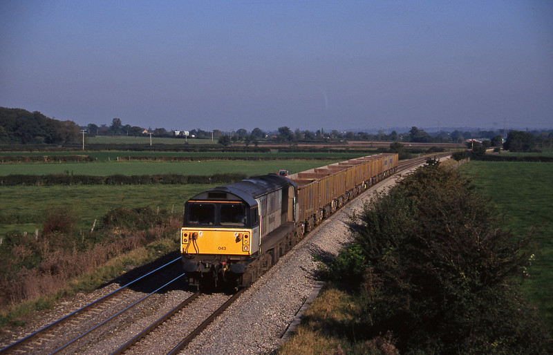 58043, down stone empties, Berkley Marsh, near Frome, 22-10-97.