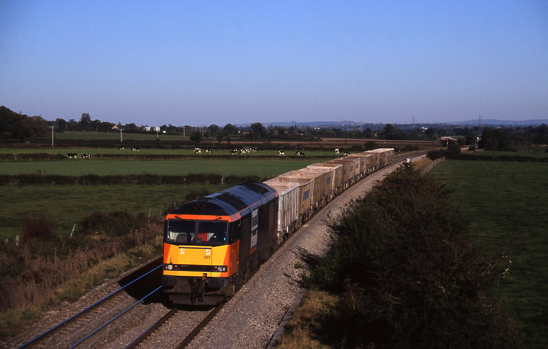 60007, Hallen Marsh-Merehead Quarry, Berkley Marsh, near Frome, 28-10-97.
