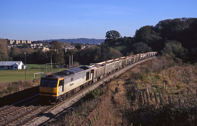 60077, Merehead Quarry-Hallen Marsh, Twerton, Bath, 29-10-97.