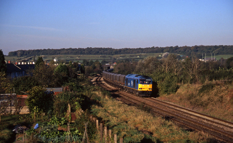 60033, 09.03 Avonmouth Bulk Handling Terminal-Didcot Power Station, Brentry, Bristol, 28-10-97.