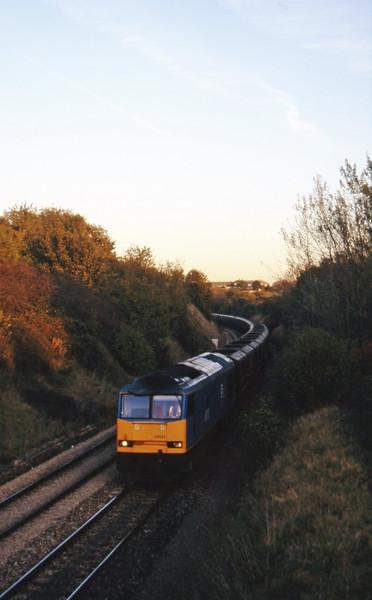 60033, Didcot Power Station-Avonmouth Bulk Handling Terminal, Brentry, Bristol, 29-10-97.