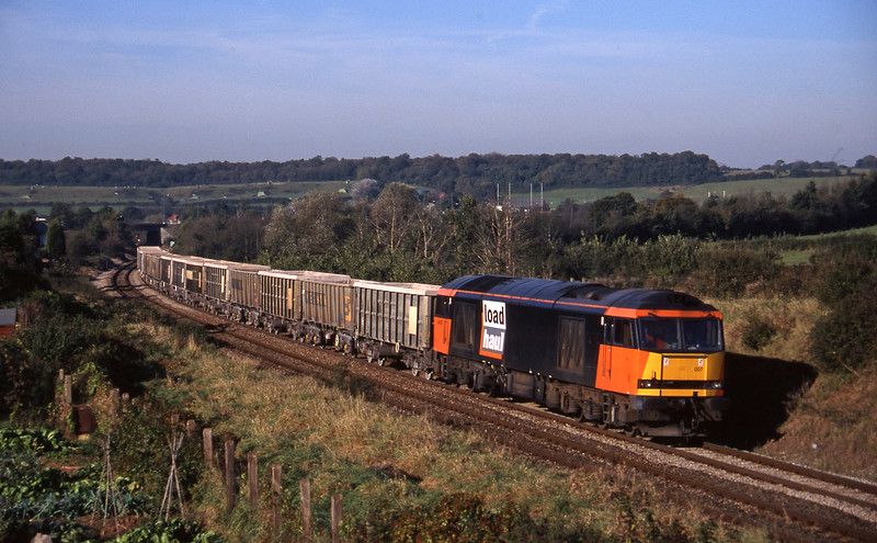 60007, Hallen Marsh-Merehead Quarry, Brentry, Bristol, 29-10-97.