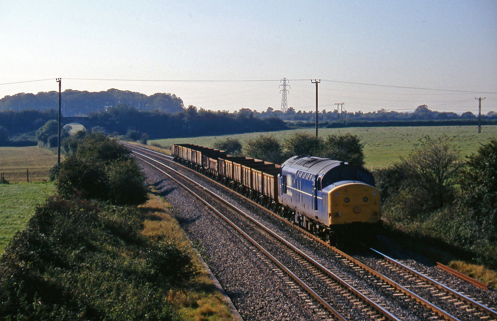 37219, up departmental, Berkley Marsh, near Frome, 22-10-97.