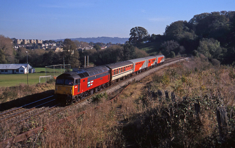 47565, down test, Twerton, Bath, 29-10-97.