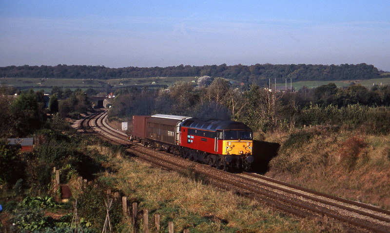 47725, 09.10 Hallen Marsh-Newport Alexandra Dock Junction Yard, Brentry, Bristol, 29-10-97.