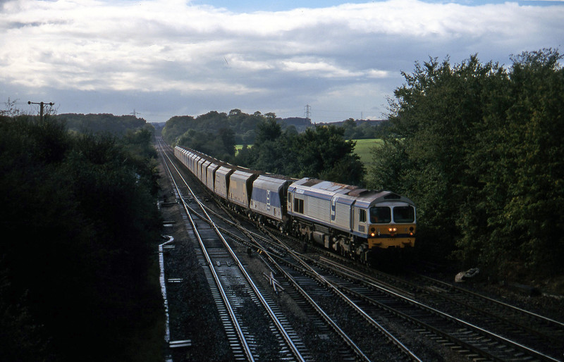 59004, up stone, Fairwood Junction, Westbury, 7-10-97.