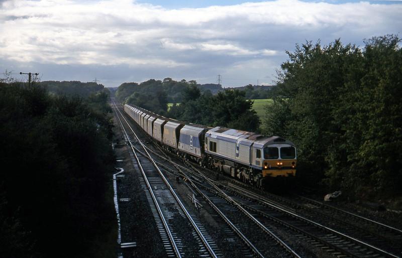 59004, up stone, Fairwood Junction, Westbury, 7-10-97.