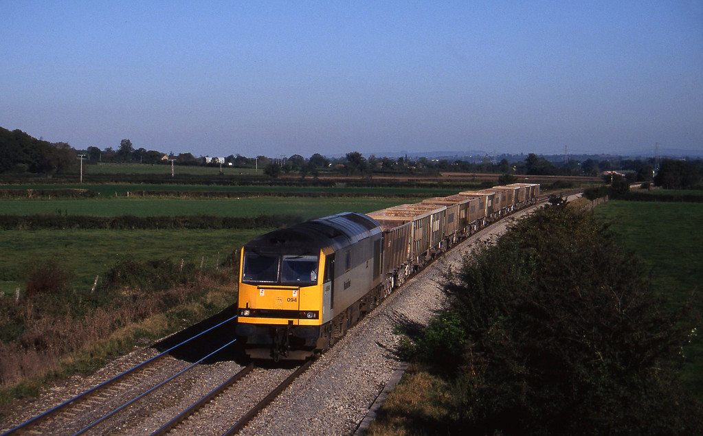 60094, down stone empties, Berkley Marsh, near Frome, 21-10-97.