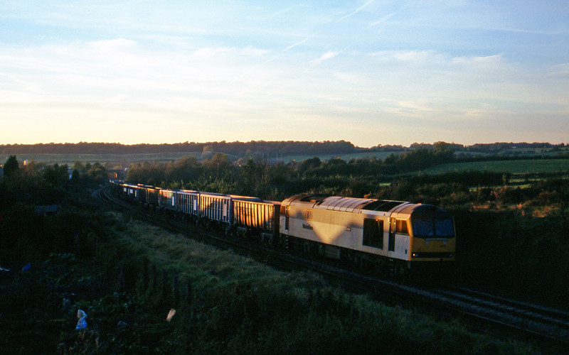60077, Hallen Marsh-Merehead Quarry, Brentry, Bristol, 29-10-97.
