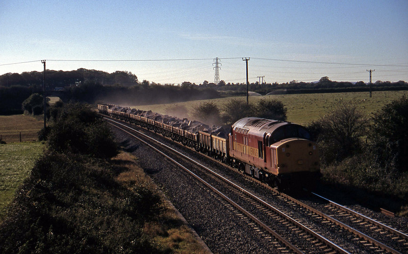 37718, 13.15 Merehead Quarry-Minehead, Berkley Marsh, near Frome, 28-10-97.